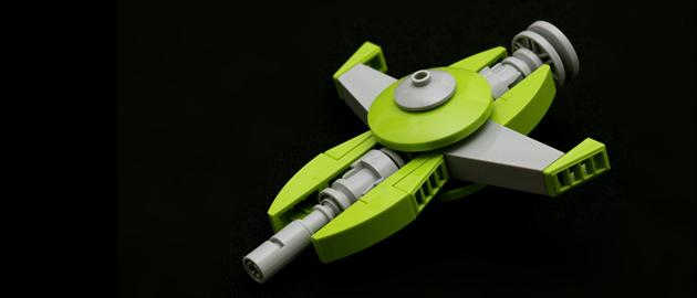 Kleines Raumschiff