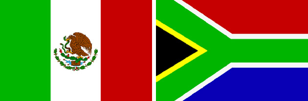 Mexiko gegen Südafrika