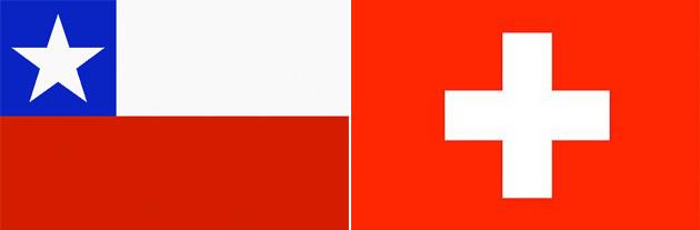 Chile gegen Schweiz