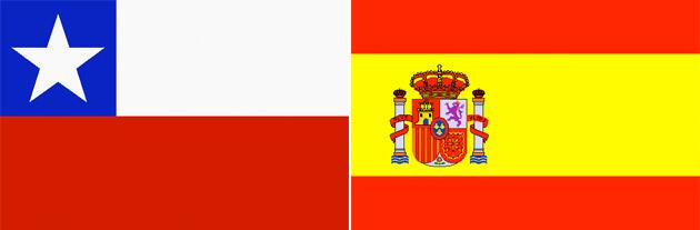Chile gegen Spanien