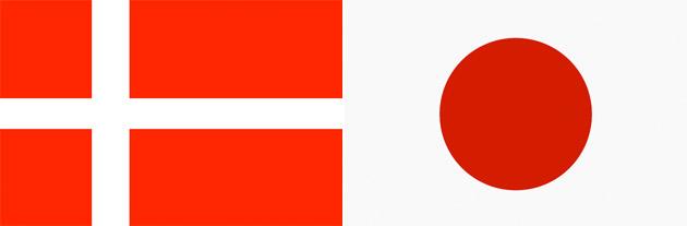 Dänemark gegen Japan