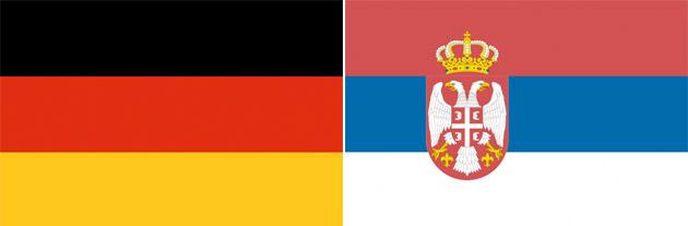 Deutschland gegen Serbien