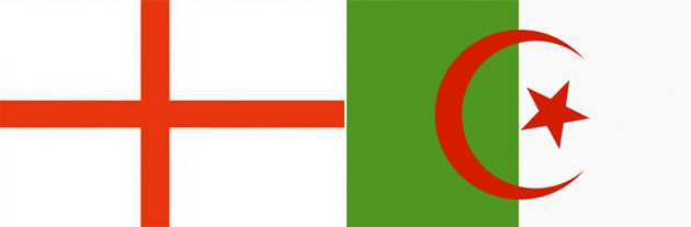 England gegen Algerien