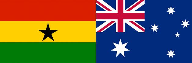 Ghana gegen Australien