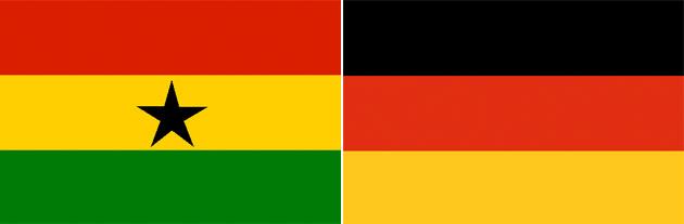 Ghana gegen Deutschland