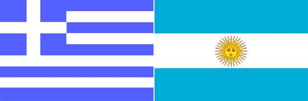 Griechenland gegen Argentinien
