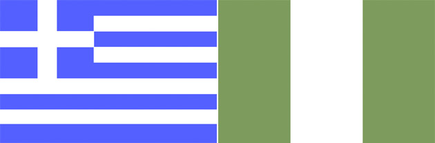 Griechenland gegen Nigeria