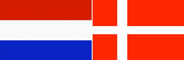 Niederlande gegen Dänemark