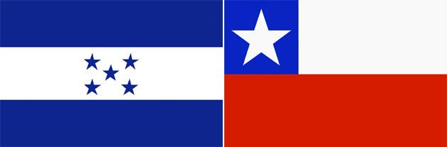 Honduras gegen Chile
