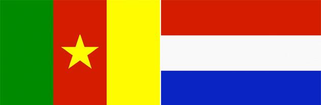 Kamerun gegen Holland