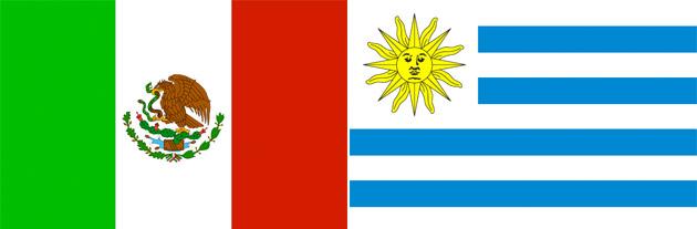 Mexiko gegen Uruguay