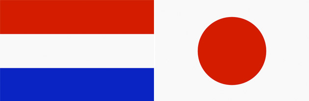 Holland gegen Japan