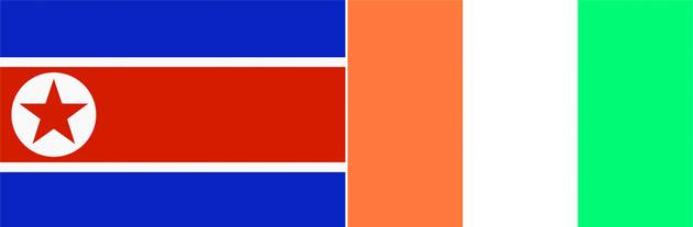 Nordkorea gegen Elfenbeinküste