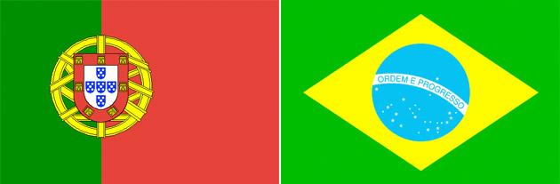 Portugal gegen Brasilien