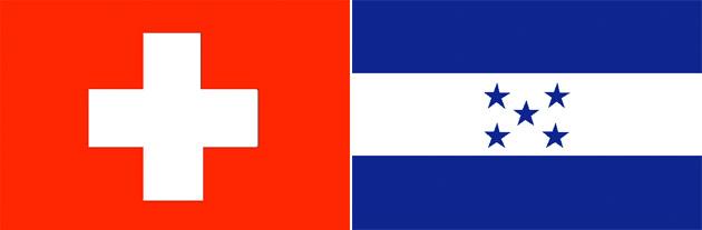 Schweiz gegen Honduras