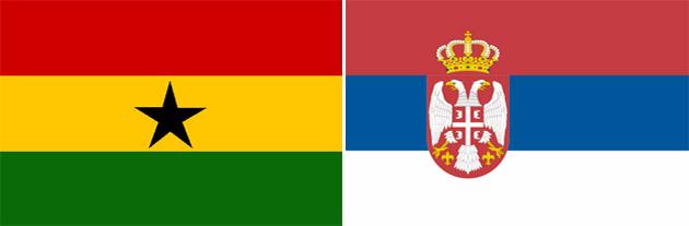 Serbien gegen Ghana