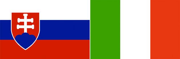 Slowakei gegen Italien