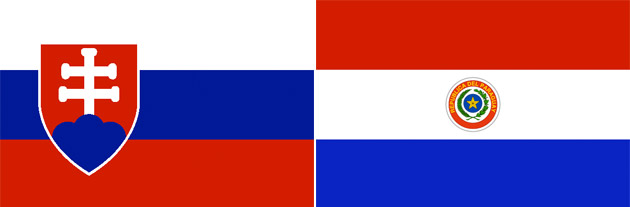 Slowakei gegen Paraguay