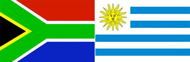 Südafrika gegen Uruguay