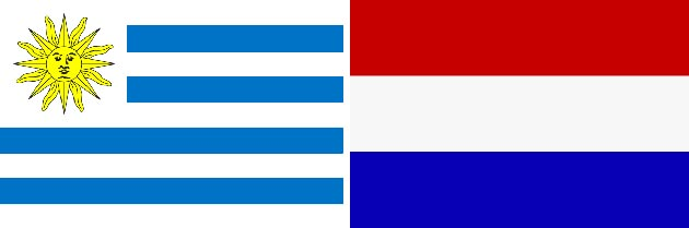 Uruguay gegen Niederlande