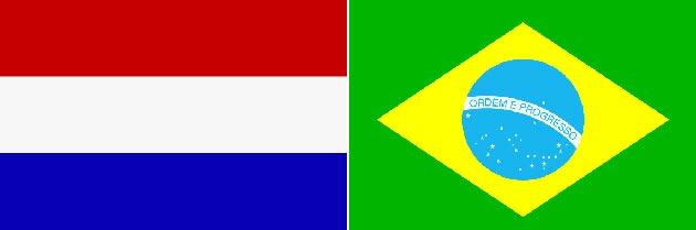 Niederlande gegen Brasilien