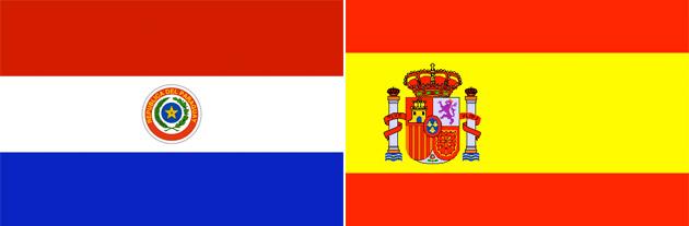Paraguay gegen Spanien