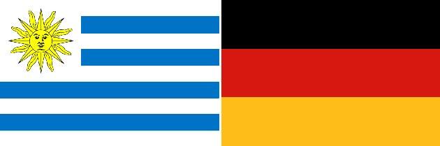 Uruguay gegen Deutschland