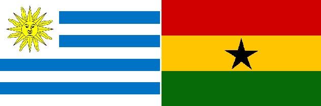 Uruguay gegen Ghana