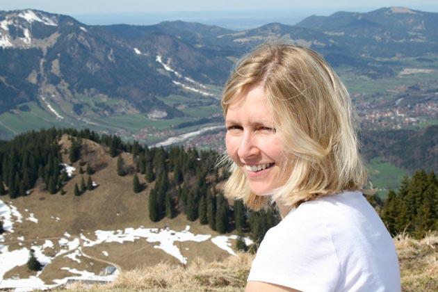 Mellcolm auf dem Gipfel